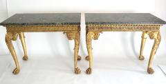 English Regency Giltwood Side Tables in the Manner of William Kent - 2127870