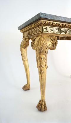 English Regency Giltwood Side Tables in the Manner of William Kent - 2127874