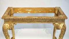 English Regency Giltwood Side Tables in the Manner of William Kent - 2127880