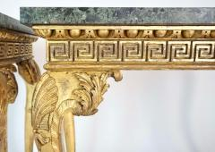 English Regency Giltwood Side Tables in the Manner of William Kent - 2127882