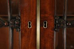 English Regency Mahogany Breakfront Cabinet - 1691330