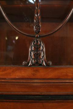 English Regency Mahogany Breakfront Cabinet - 1691332