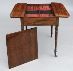 English Regency Pembroke Games Table - 96848