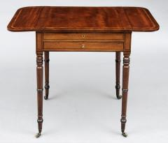 English Regency Pembroke Games Table - 96850