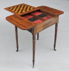 English Regency Pembroke Games Table - 96851