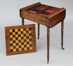 English Regency Pembroke Games Table - 96852