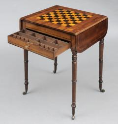 English Regency Pembroke Games Table - 96853