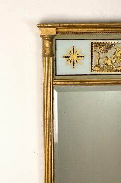 English Regency Pier Mirror Circa 1810 - 1580107