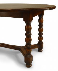 English Renaissance Style Oak Refectory Table - 1429666