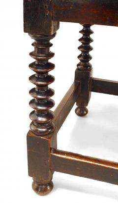 English Renaissance Walnut Table Desk - 1429053