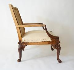 English Rococo Style Gainsborough Library Chair Manner of Giles Grendey - 788844