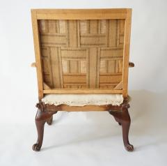 English Rococo Style Gainsborough Library Chair Manner of Giles Grendey - 788864