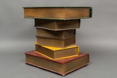 English Side Table in the Shape of Stacked Books - 1771244