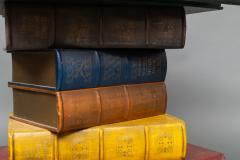 English Side Table in the Shape of Stacked Books - 1771247