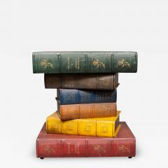 English Side Table in the Shape of Stacked Books - 1772595