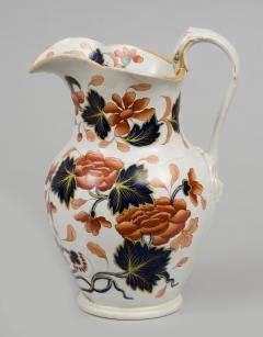English Stoneware Imari Jug - 266734