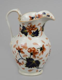 English Stoneware Imari Jug - 266738