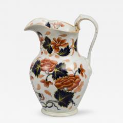 English Stoneware Imari Jug - 267722