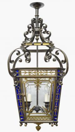 English Victorian Bronze Lantern - 103256