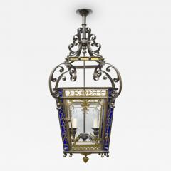 English Victorian Bronze Lantern - 107325