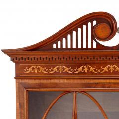 English Victorian period vitrine cabinet - 1577217