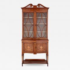 English Victorian period vitrine cabinet - 1579238