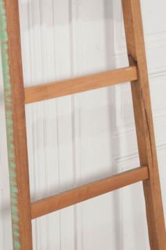 English Vintage Painted Farm Ladder - 1395075