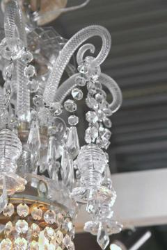 English William IV Early 19th Century Crystal Chandelier - 98161