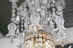 English William IV Early 19th Century Crystal Chandelier - 98162