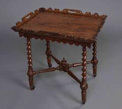 English William IV Period Tray Top Side Table - 620089