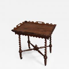 English William IV Period Tray Top Side Table - 621568