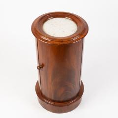 English William IV mahogany pillar commode - 1932011
