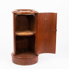 English William IV mahogany pillar commode - 1932013
