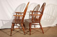 English Windsor Arm Chairs - 174751