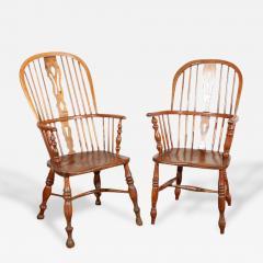 English Windsor Arm Chairs - 175351