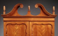 Enoch Poor Chippendale Serpentine Front Secretary attributed to Enoch Poor - 477884