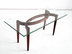 Enrico Carlo Rava 1940s Carlo Enrico Rava Coffee Table in Rosewood - 444987