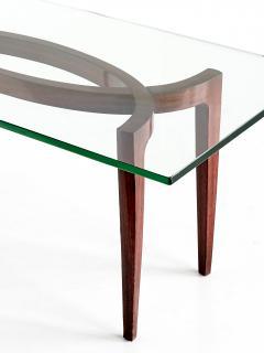Enrico Carlo Rava 1940s Carlo Enrico Rava Coffee Table in Rosewood - 444989
