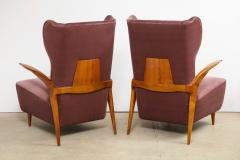 Enrico Ciuti Pair of Sculptural Lounge Chairs attributed to Enrico Ciuti - 1323178