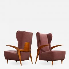 Enrico Ciuti Pair of Sculptural Lounge Chairs attributed to Enrico Ciuti - 1349188