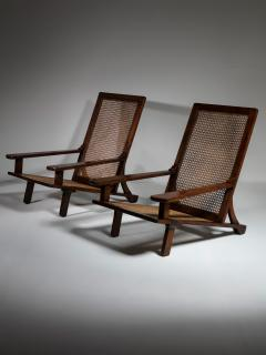 Enrico Galassi Pair of Lounge Chairs by Enrico Galassi - 1574980