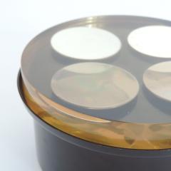 Enzo Mari Enzo Mari Acrylic and Metal Box for Danese - 681004