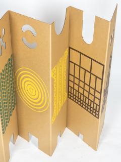 Enzo Mari Il posto dei giochi Folding Screen for Danese 1967 - 924691
