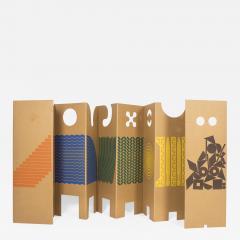 Enzo Mari Il posto dei giochi Folding Screen for Danese 1967 - 926074