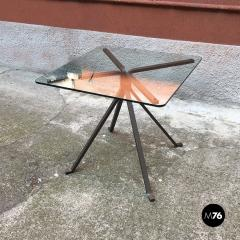Enzo Mari Smoked table mod Cugino by Enzo Mari for Driade 1973 - 2034931