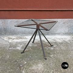 Enzo Mari Smoked table mod Cugino by Enzo Mari for Driade 1973 - 2034933
