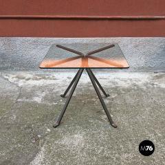 Enzo Mari Smoked table mod Cugino by Enzo Mari for Driade 1973 - 2034947