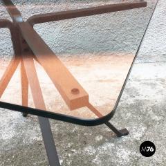 Enzo Mari Smoked table mod Cugino by Enzo Mari for Driade 1973 - 2034995