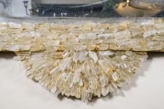 Enzo Missoni One of a Kind Rock Crystal Mirror - 730695