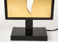 Enzo Missoni Pair of brutalist table lamps - 1196501